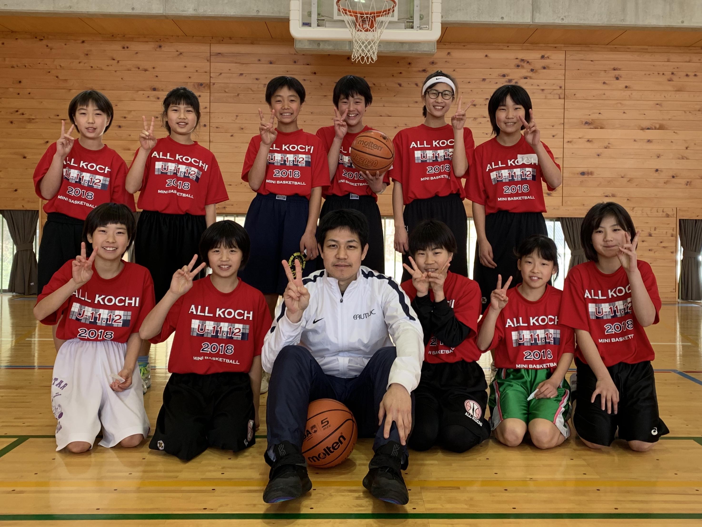 ジュニアバスケットボールサミット2018