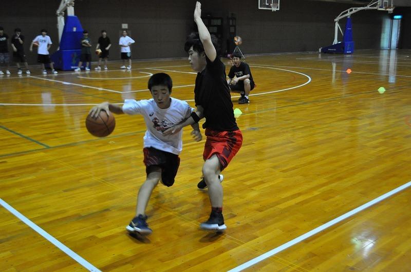 バスケ練習