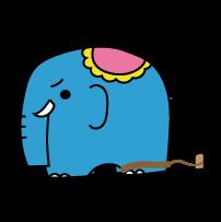 サーカスの象