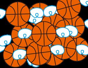 びびちょ エルトラック マスコット バスケ キャラクター バスケットボール 妖精