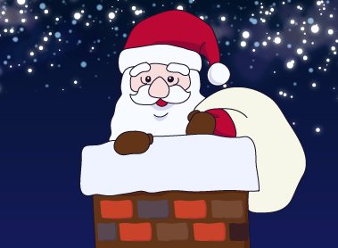 エルトラック バスケ ブログ サンタ クリスマス 煙突 プレゼント バスケットボールの家庭教師