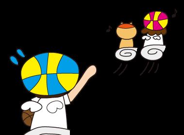 「ミミズの穴」とバスケットボール