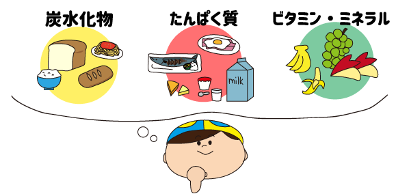3つの栄養素