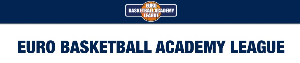ユーロバスケットボールアカデミーリーグバナー