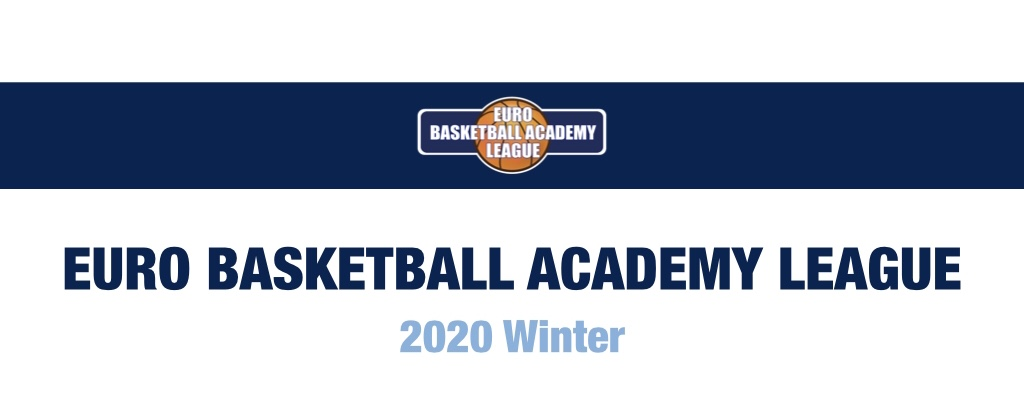 EURO BBA LEAGUE 2020 WINTER ヘッダー