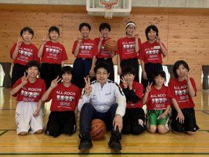 高知県ミニバスケットボール連盟の指導者講習会(2019年1月19.20日)を担当しました!!