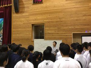 山梨県バスケットボール協会のリフレッシュ講習会を担当しました!!