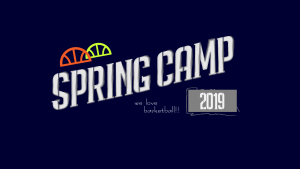 SPRING CAMP 2019 の詳細を公開!!!!