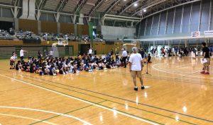 神奈川県ミニバスケットボールサマーフェスティバルを担当しました!!