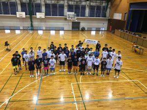 兵庫県バスケットボールスペシャルクリニックを担当しました!!
